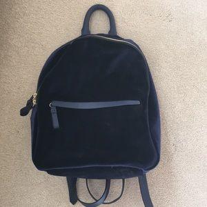 Blue Velvet Zara Backpack